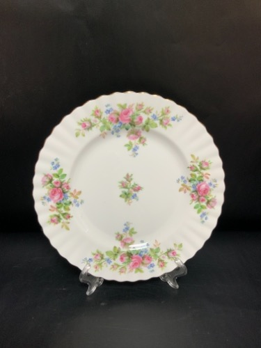 "로얄 알버트 ""Moss Rose"" 플레이트 Royal Albert ""Moss Rose"" Plate circa 1950"