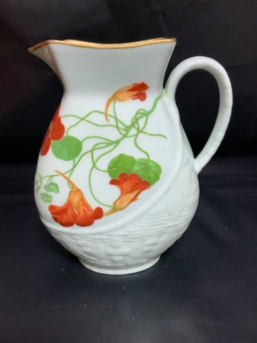 하빌랜드 리모지 핸드페인트 피쳐 Haviland Hand Painted Pitcher Signed and dated - 1882