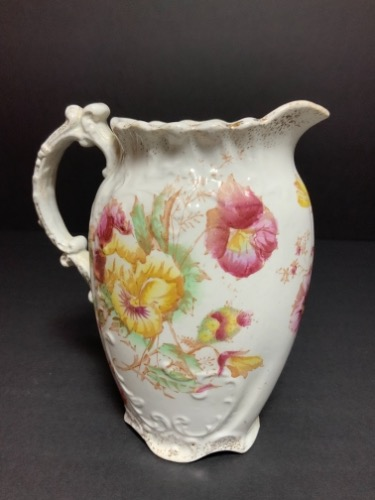 펜지 멋진 밀크 피쳐 Pansy Great Britain Milk Pitcher